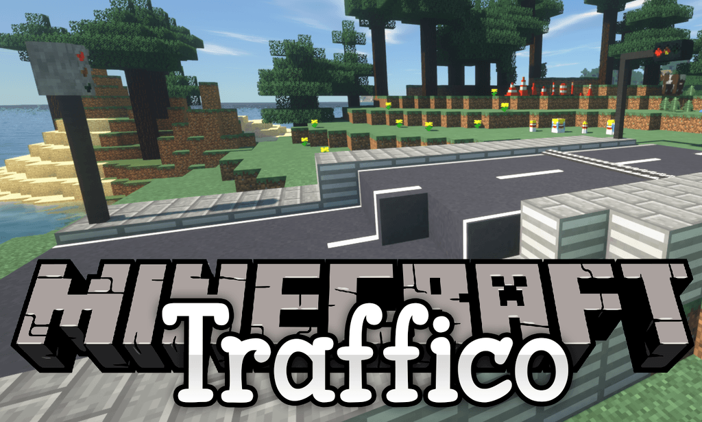 Traffico mod for minecraft logo