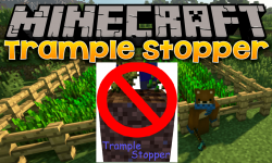 Trample Stopper mod for minecraft logo 1