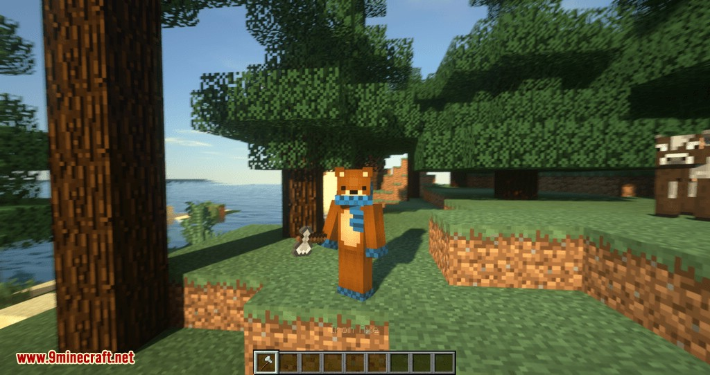 Tree Choppin mod for minecraft 03