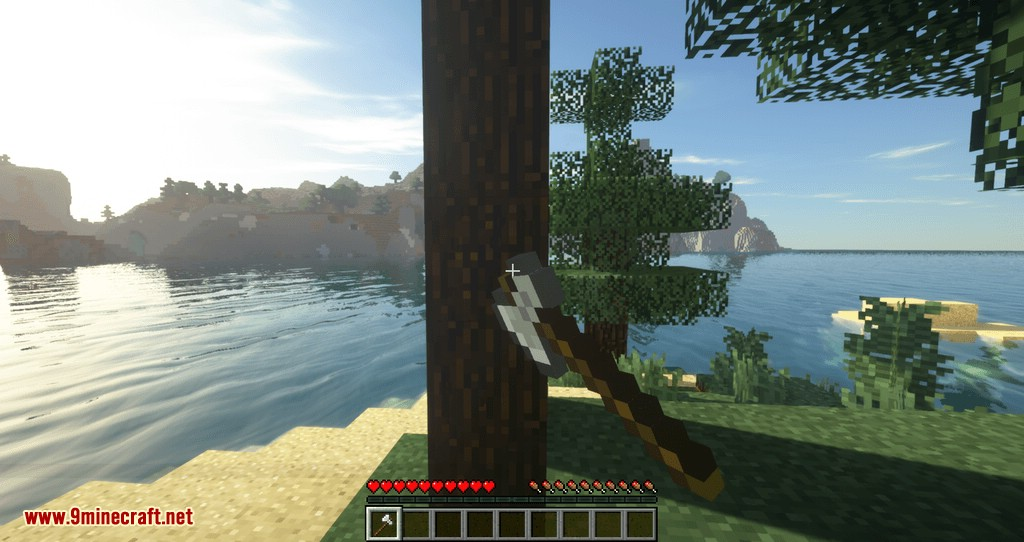 Tree Choppin mod for minecraft 04