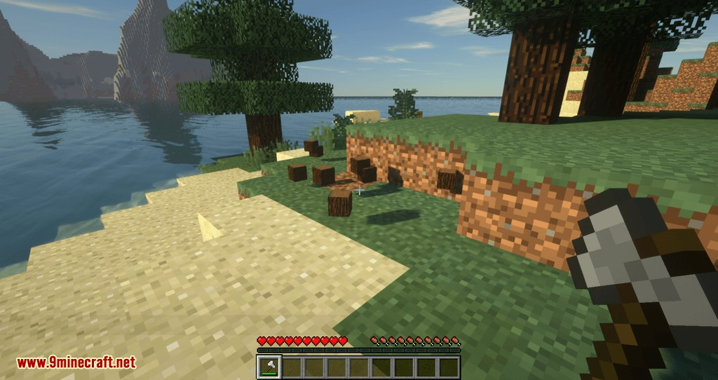 Tree Choppin mod for minecraft 06
