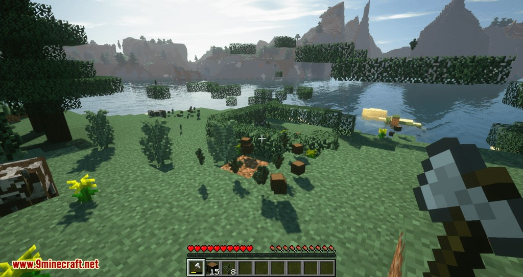 Tree Choppin mod for minecraft 07