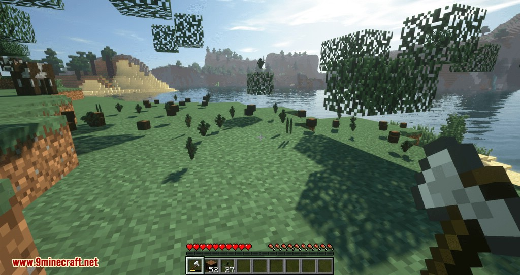 Tree Choppin mod for minecraft 08