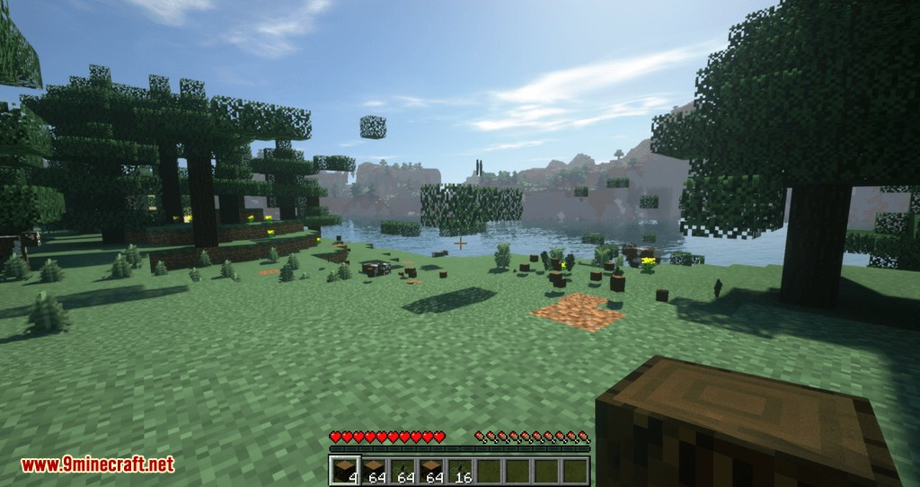 Tree Choppin mod for minecraft 10