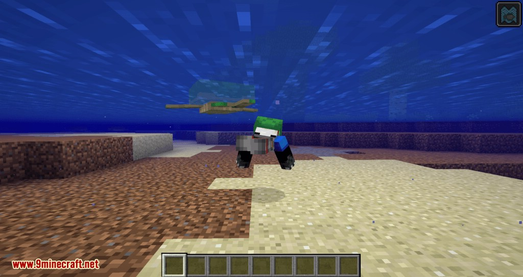 Turtle Shell Drop mod for minecraft 06
