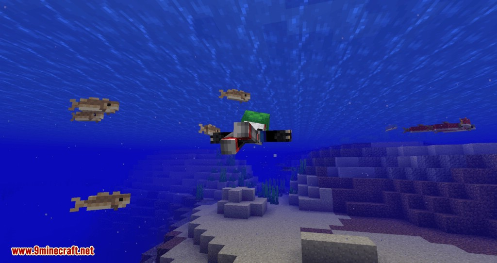 Turtle Shell Drop mod for minecraft 08
