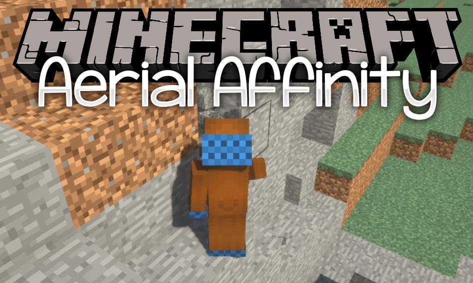 aerial affinity mod for minecraft logo