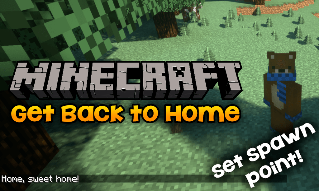 get back to home mod for minecraft logo