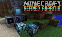 refined avaritia mod for minecraft logo