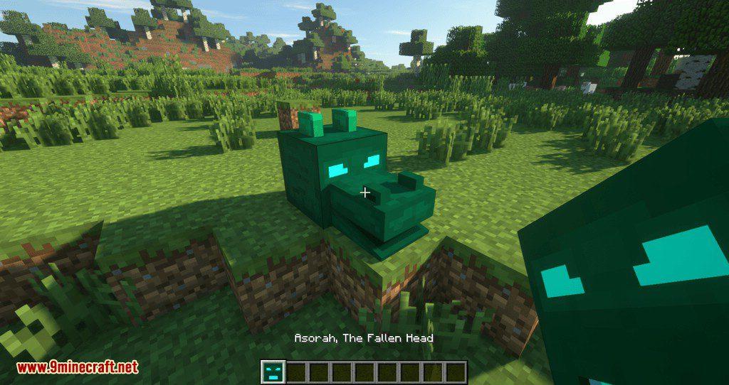AbyssalCraft Heads mod for minecraft 12