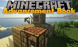 Advancement Book mod for minecraft logo