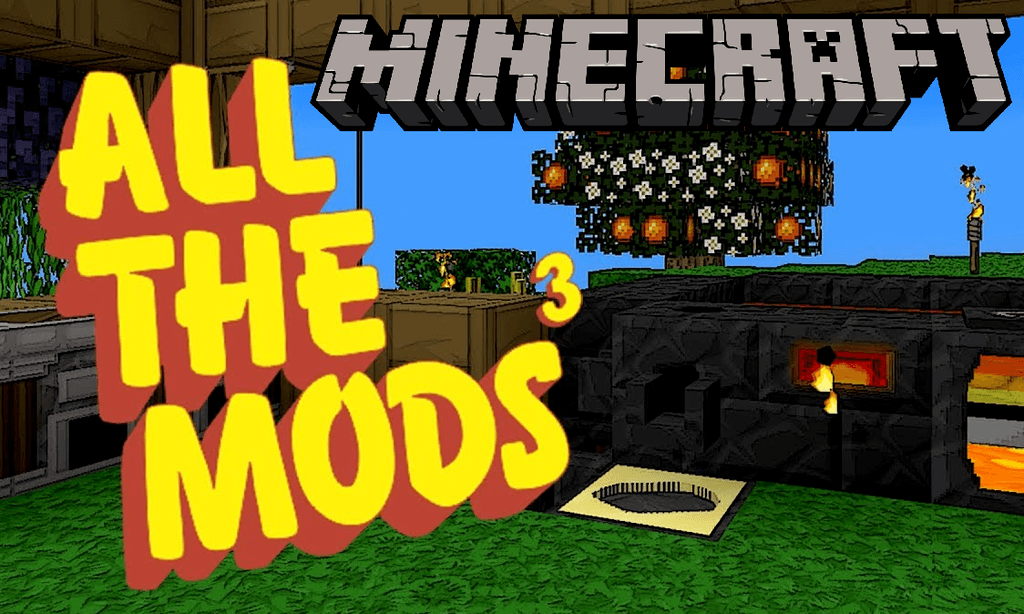 All the Mods 3 mod for minecraft logo