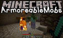 ArmoreableMobs mod for minecraft logo