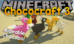 Chococraft 3 mod for minecraft logo