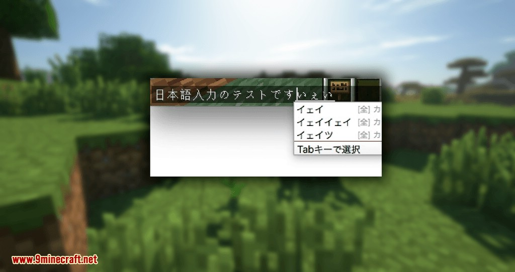 CocoaInput mod for minecraft 08