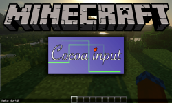 CocoaInput mod for minecraft logo