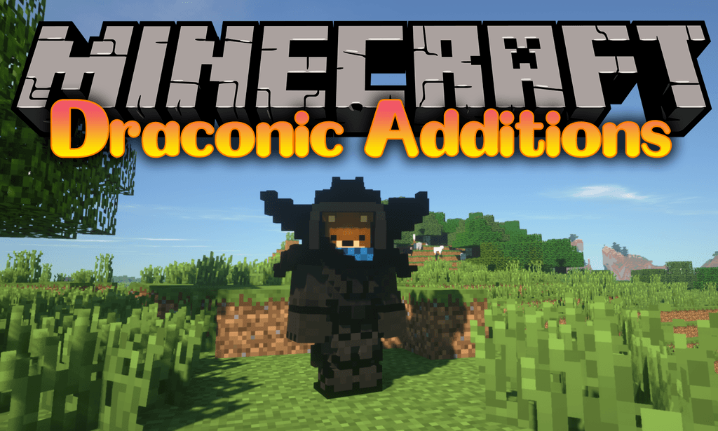 Draconic Additions mod for minecraft logo