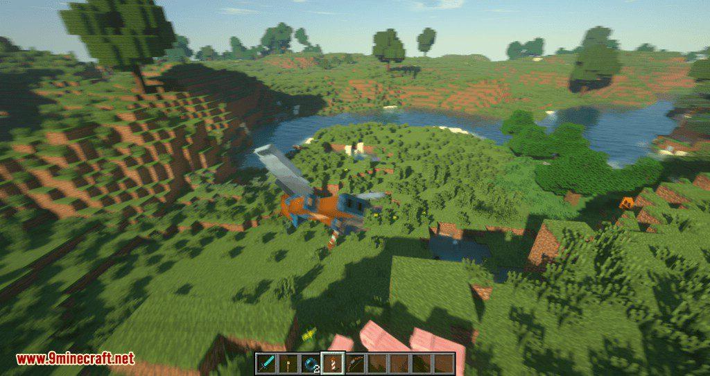 Dragon Drop Elytra mod for minecraft 11