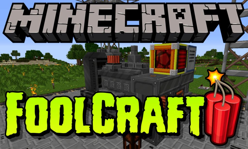 FoolCraft 3 mod for minecraft logo