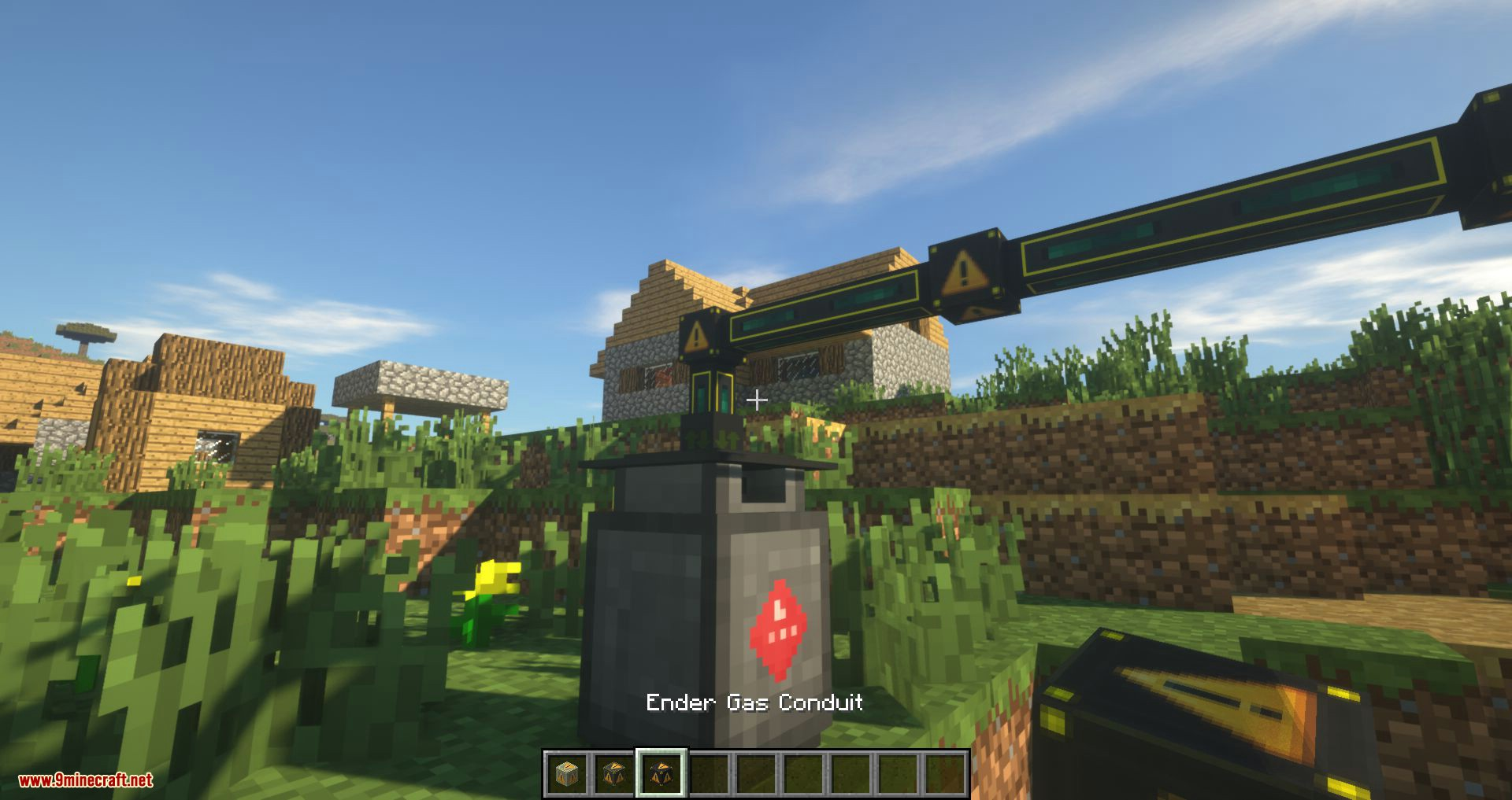Gas Conduits mod for minecraft 03