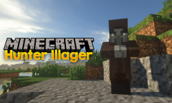 Hunter Illager mod for minecraft logo