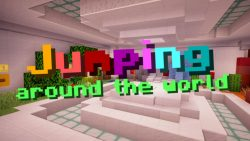 Jumping Around The World Map Thumbnail