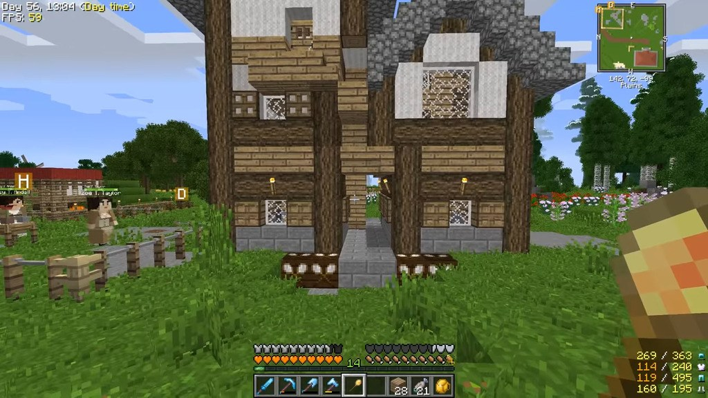 Life in the Village Modpacks 1 12 2 (Tale of Your Kingdom