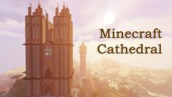 Minecraft Cathedral Map Thumbnail