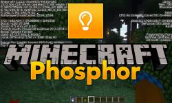 Phosphor mod for minecraft logo