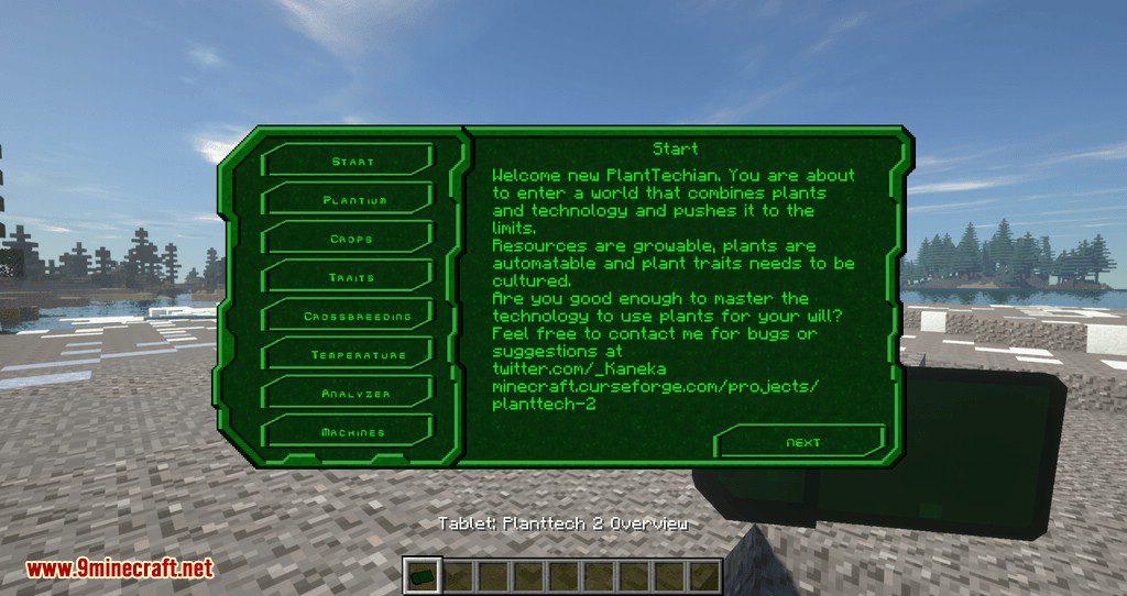 PlantTech 2 mod for minecraft 01