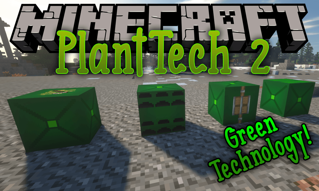 PlantTech 2 mod for minecraft logo