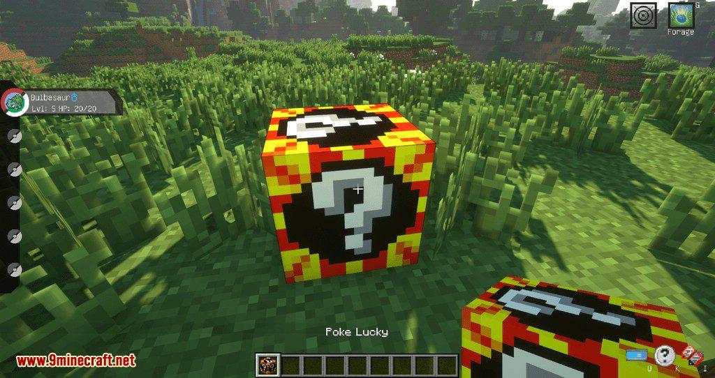 Poke Lucky mod for minecraft 01