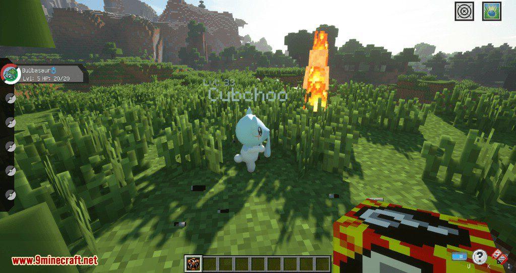 Poke Lucky mod for minecraft 03