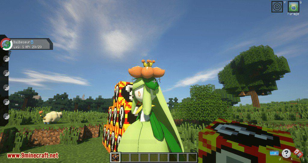 Poke Lucky mod for minecraft 04