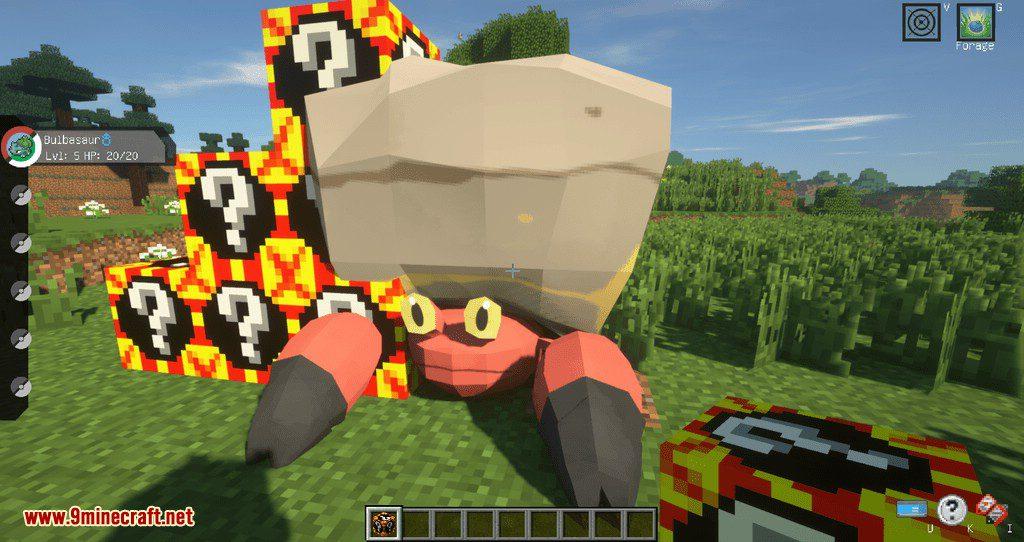 Poke Lucky mod for minecraft 06