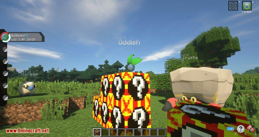 Poke Lucky mod for minecraft 07