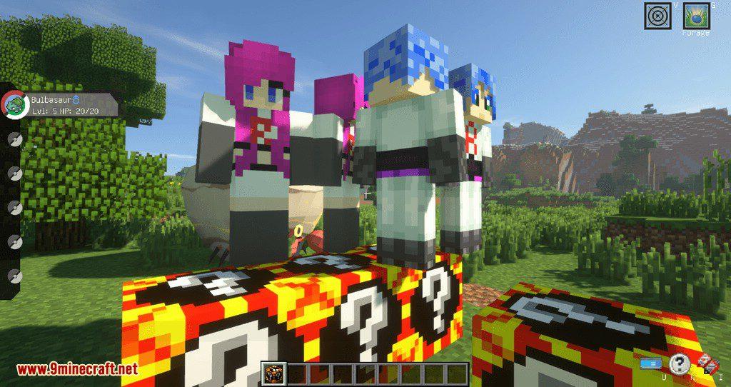 Poke Lucky mod for minecraft 09