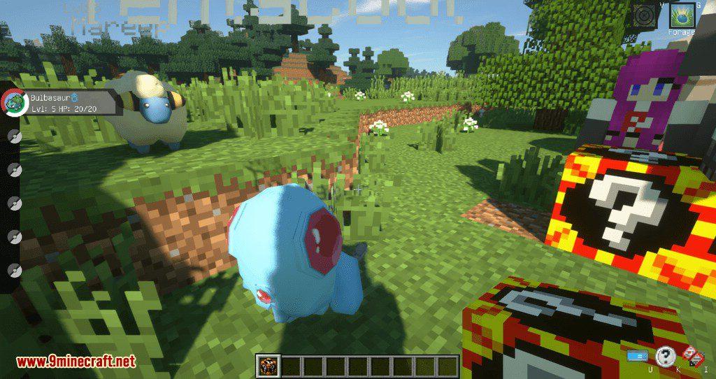 Poke Lucky mod for minecraft 10