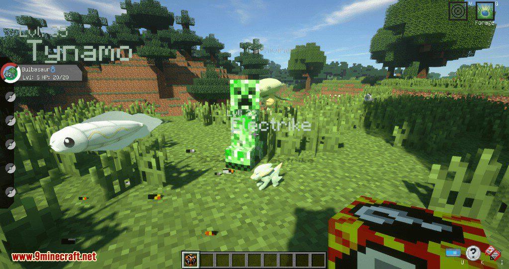 Poke Lucky mod for minecraft 13