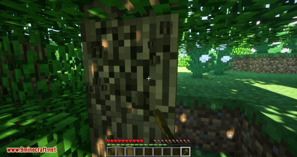 Proportional Destruction Particles mod for minecraft 05