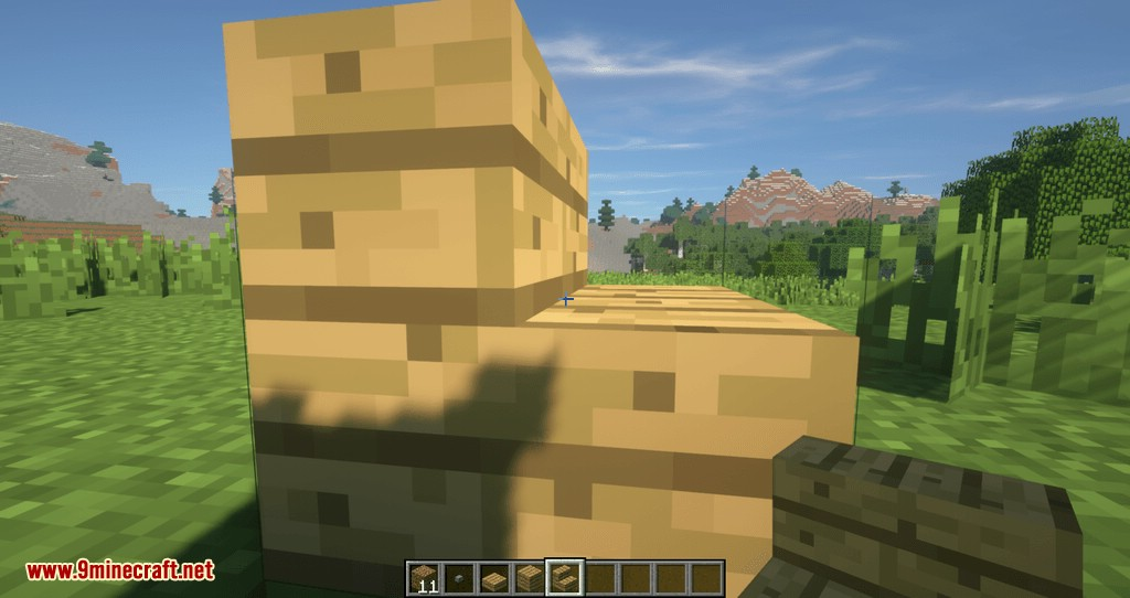Proportional Destruction Particles mod for minecraft 11