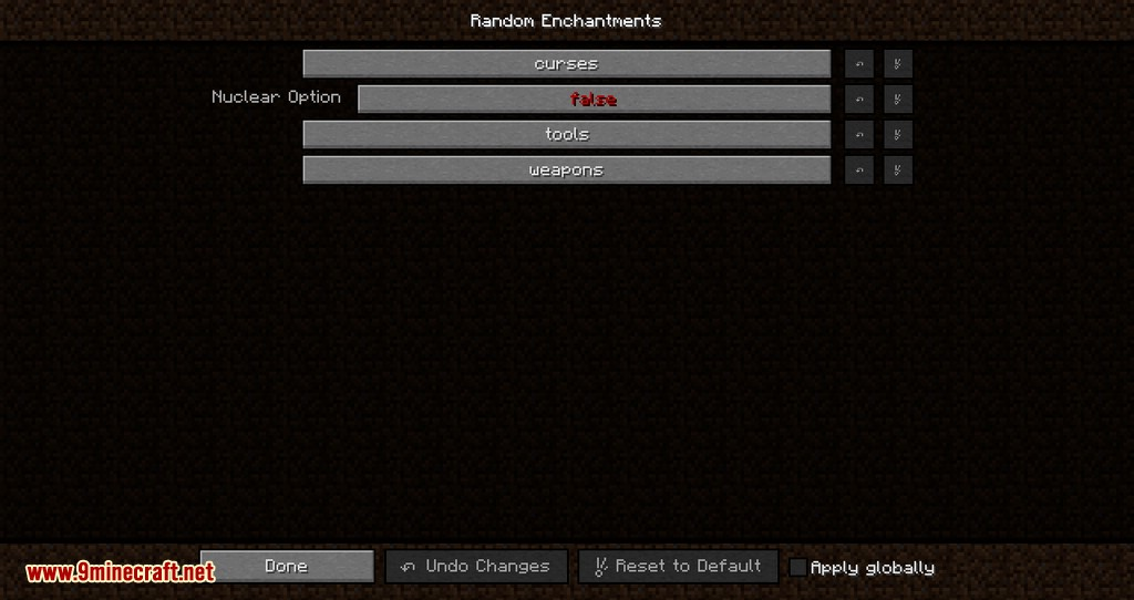 Random Enchants mod for minecraft 14