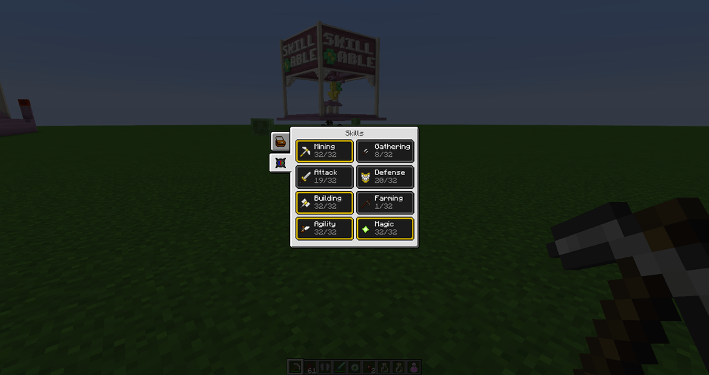 Reskillable mod for minecraft 23
