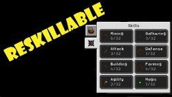Reskillable mod for minecraft banner