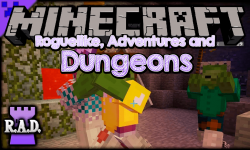 Roguelike Adventures and Dungeons mod for minecraft logo