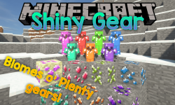 Shiny Gear mod for minecraft logo