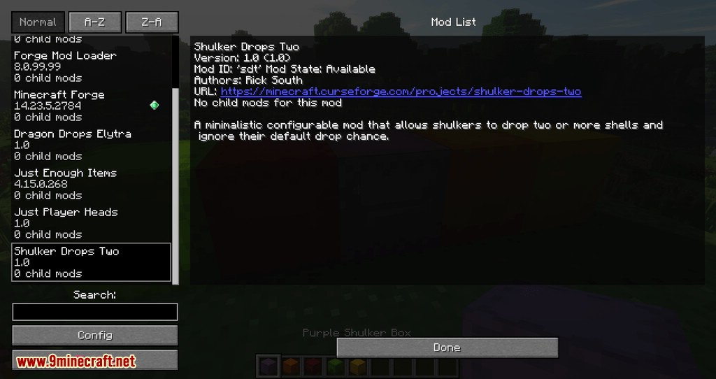 Shulker Drops Two mod for minecraft 11