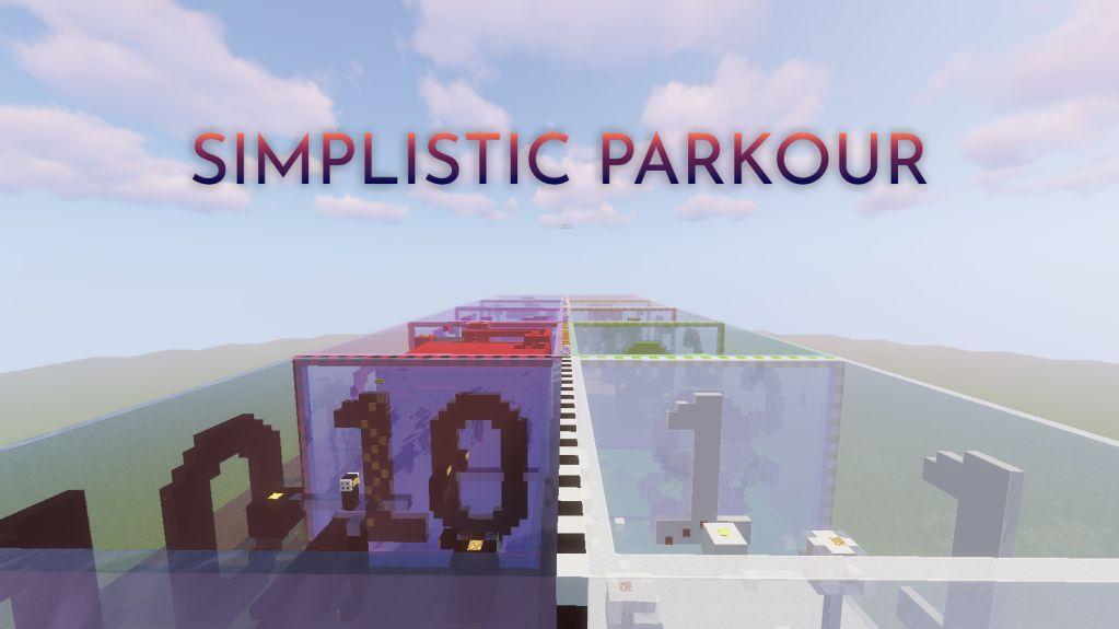 Simplistic Parkour 3 Map Thumbnail