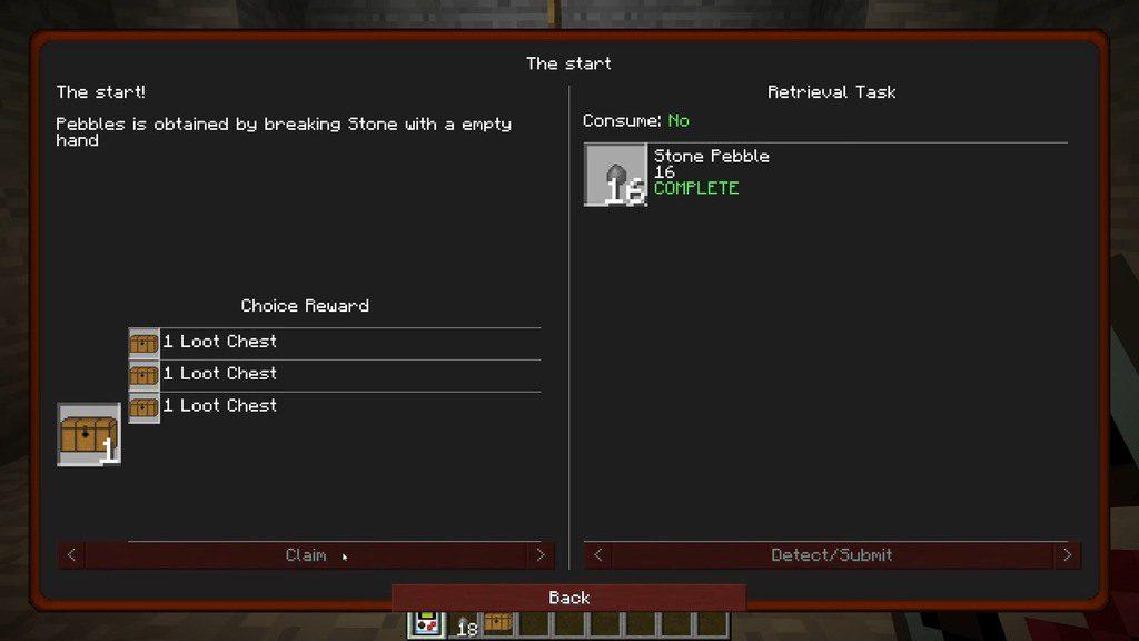 StoneBlock mod for minecraft 02