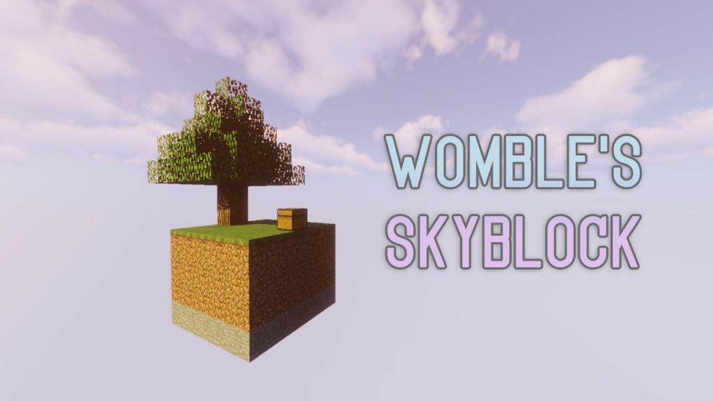 Womble's SkyBlock Map 1 13 2 for Minecraft - 9Minecraft Net